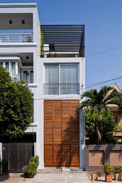 Architects Mm Casa Casas Plegable Cortinilla Vietnam