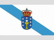 La bandera representativa de Galicia