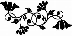 Floral Flourish Flowers Free Vector Graphic On Pixabay