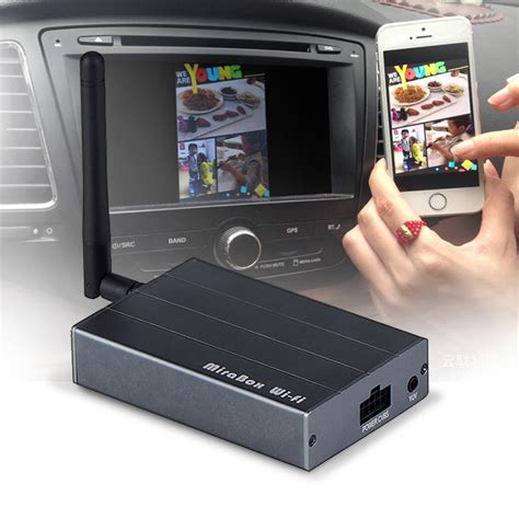 miracast android car wireless mirabox wifi airplay miracast for iphone