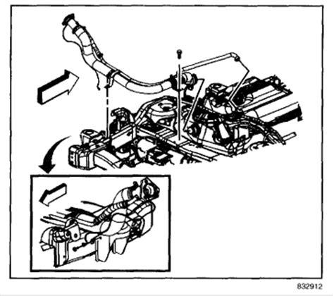 2000 Daewoo Leganza Exhaust Diagram by Service Manual 2004 Hummer H2 Spark Heat Shield