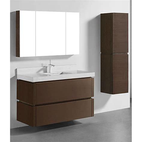 madeli cube  single wall mounted bathroom vanity