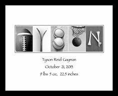 1000 images about alphabet photography on pinterest With sports themed letter art
