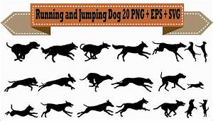 Running and Jumping Dog Dogs Puppy Pet Training Pack ...