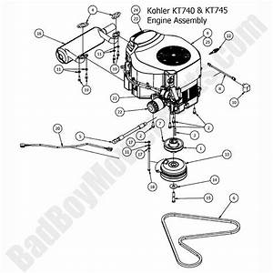Bad Boy Mowers Parts Diagram