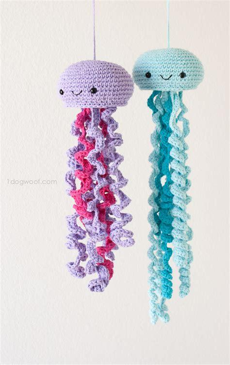 crochet amigurumi jellyfish   pattern