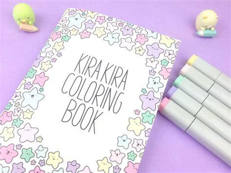 kawaii coloring book kawaii products kirakiradoodles