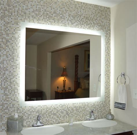 illuminated wall vanity mirror lighted vanity mirror make up wall mounted led mam94844