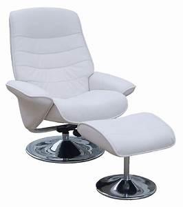 Fauteuil Repose Pied : fauteuil relaxation pivotant avec repose pieds ~ Teatrodelosmanantiales.com Idées de Décoration