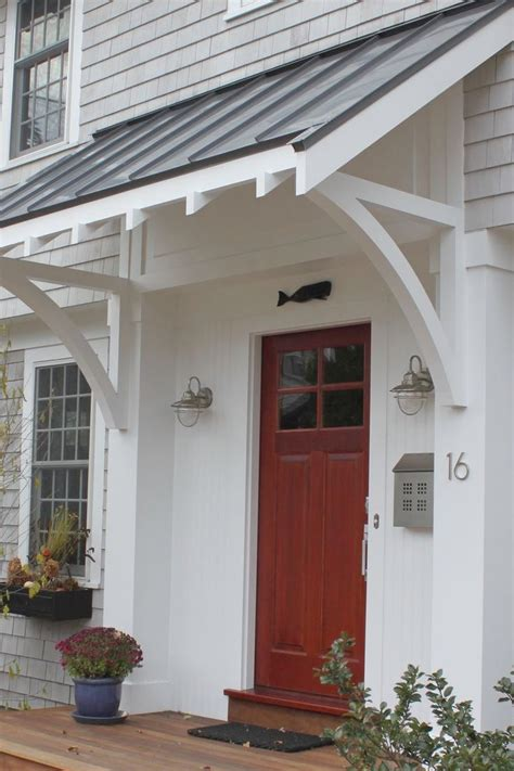 awesome awning  front door   front door awning