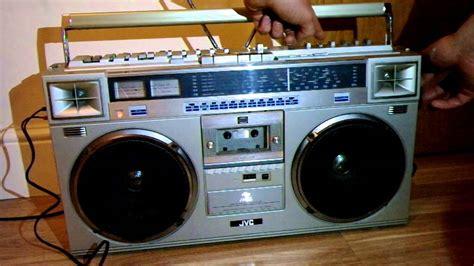 1982 Jvc Rc-m70jw Ghetto Blaster Boombox