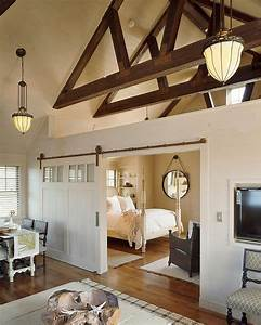 25 bedrooms that showcase the beauty of sliding barn doors With barn doors for interior rooms