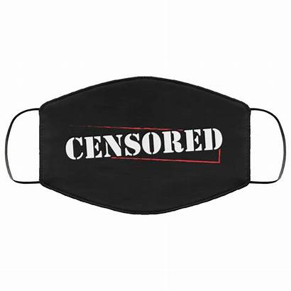 Face Mask Funny Censored Humor Cloth Reusable