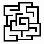 Maze Icon Laberinto Icono Icons Transparent Gratis