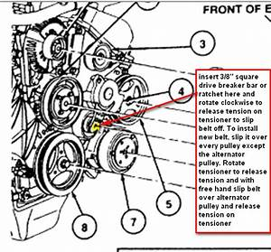 Diagram To Install Serpentine Belt 2002 Infiniti Qx