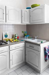 Comment Renover Une Cuisine : renover vieille cuisine en bois repeindre une cuisine en bois massif delphine ertzscheid ~ Nature-et-papiers.com Idées de Décoration