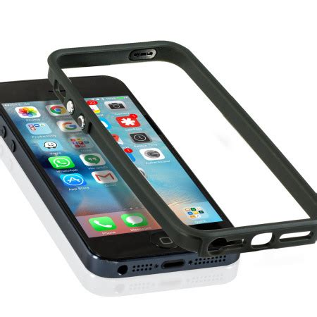 iphone bump prodigee bump fit iphone se bumper grey reviews