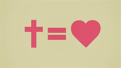 Cross Equals Heart