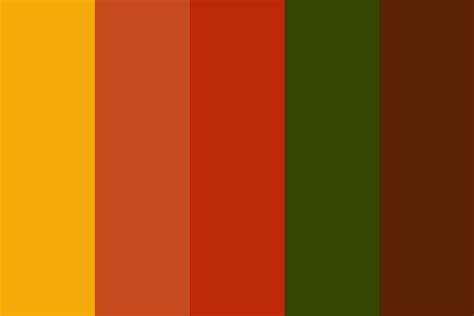 color for september colors of september color palette