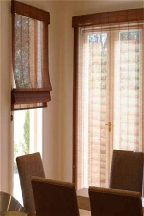 bamboo window shades chinois asian style woven blinds