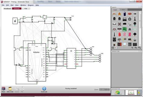 logiciels pour creer  tracer des circuits electrique tci