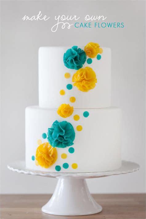 wedding cakes diy cake flowers 792770 weddbook