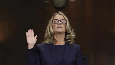 'I'm terrified': Blasey Ford says Kavanaugh sexually