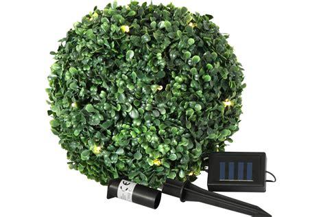 buchsbaum künstlich mit beleuchtung kugel buchsbaum k 252 nstlich mit 20 led beleuchtung 26 5 cm innen und au 223 en deko ebay