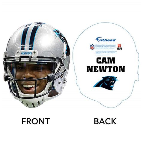 Cam Newton Game Day Big Head Cut Out  Shop Fathead® For