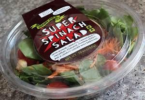 Trader Joe's Super Spinach Salad | Eating At Joes
