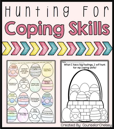 161 best coping skills images on activities 473 | 64473f839a234fdc5300e52eed85d90e easter social skills coping skills