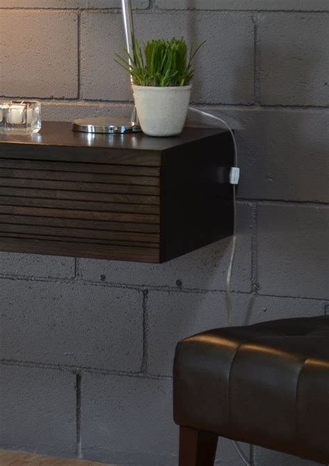 floating wall night stands  drawers  pinterest