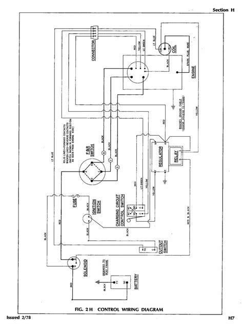 Golf Cart Wire Diagram by Columbia Par Car 48v Wiring Diagram Wiring Diagram