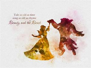 Tale As Old As Time Mixed Media by Rebecca Jenkins