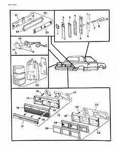 1984 Chrysler Lebaron Lamps  U0026 Wiring - Rear