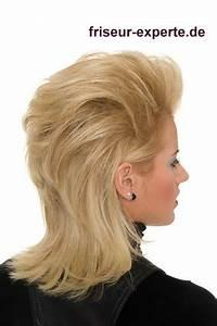 80er Jahre Style : rockiger blonder damen vokuhila frisur im nena verschnitt der 80er jahre friseur experte ~ Frokenaadalensverden.com Haus und Dekorationen