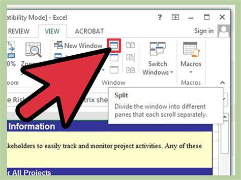 Comment figer des cellules dans Excel: 9 étapes