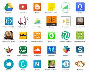 Onescreen Of Apps For The Chromebook Classroom
