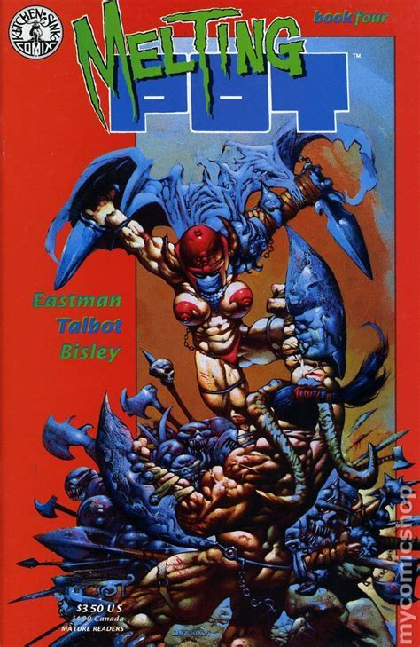 Melting Pot (1993) comic books