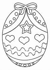 Coloring Egg Easter Detailed Printable Getcolorings Colorings sketch template