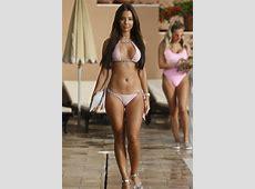 TOWIE news Yazmin Oukhellou bikini camel toe shocks in
