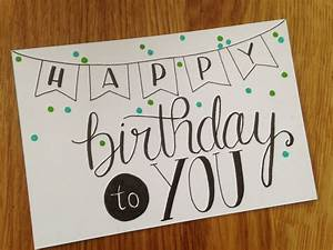 Best and Creative Birthday Card Ideas #BirthdayCard ...