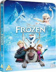 Frozen 3D (Includes 2D Version) - Zavvi Exclusive ...