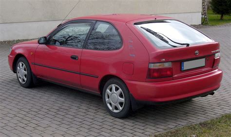 Toyota Corolla 1993 by 1993 Toyota Corolla Liftback E10 Pictures Information