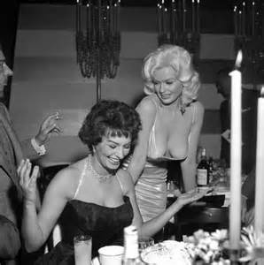 nyc party rentals american jayne mansfield right and loren
