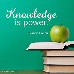Knowledge Is Power Quotes. QuotesGram