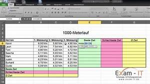 Leibrente Berechnen Excel : excel 2010 grundwissen einfache formeln youtube ~ Watch28wear.com Haus und Dekorationen