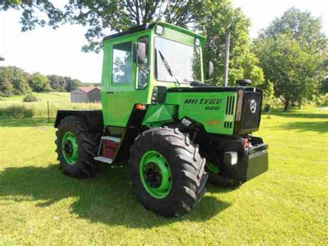 Mb Trac 800 Family Angebote Dem Auto Anderen Marken