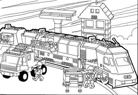 Trein Kleurplaat Ns by Charmante Lego Trein Kleurplaat Krijg Duizenden