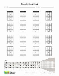 Banjo Fretboard Blank Printable 9jasports